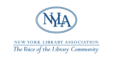 NYLA: New York Library Association logo with tagline: 'The Voice of the Library Community'
